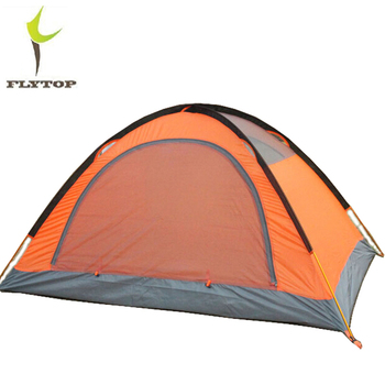 FLYTOP Outdoor Camping Tent For Rest Travel 2 Persons 3 Double Layer Windproof Waterproof Winter