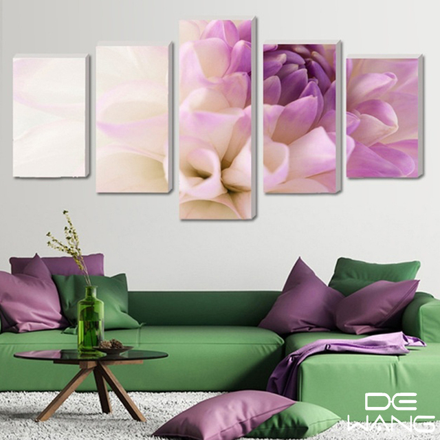 Hot sell modern home decor modular picture wall art canvas poster hot sell modern home decor modular picture wall art canvas poster pink flower wall picture for mightylinksfo