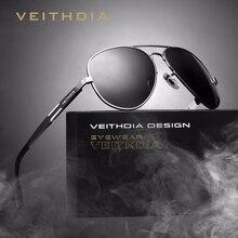 2017 VEITHDIA Vintage Pilot Sunglasses Men Polaroized Lens Male's Sun Glasses  Eyeglasses gafas oculos de sol masculino VT6695