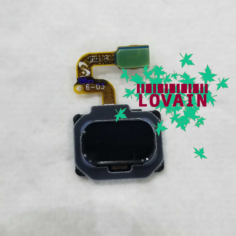 LOVAIN 10PCS Black For Samsung Galaxy Note8 Note 8 N950 Return Key Home Button Fingerprint Finger Print Sensor Flex Cable