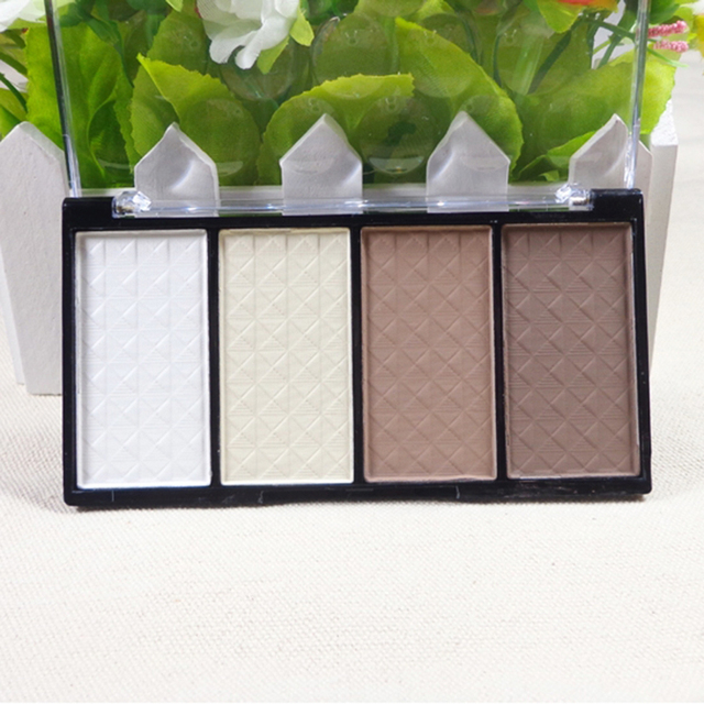 1PC Pressed Powder Women Necessary Four Color Pressed Powder Highlight Contour Shading Powder Cosmetic Make-up M01077