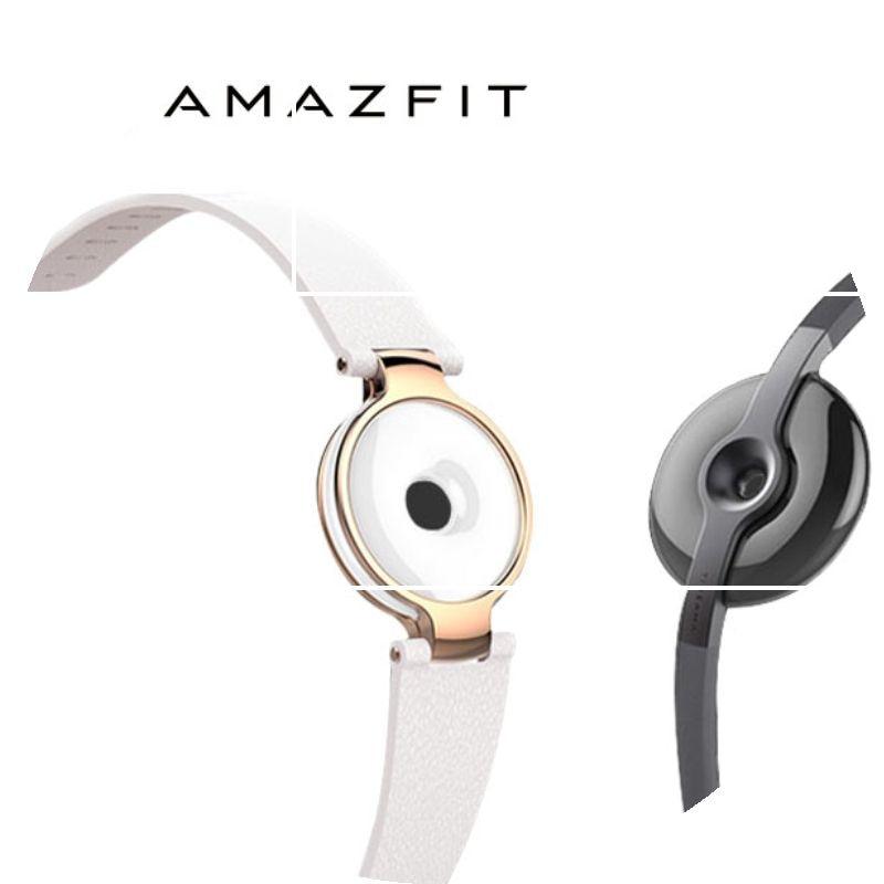 hotsale font b Xiaomi b font Amazfit Moonbeam Smart Wristband Ornament Decoration Jewelry jade like Fashion