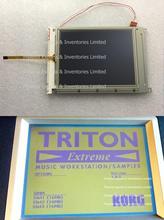 Korg triton ex extreme ex61 ex76 ex88 d16xd d32xd lcd 화면 디스플레이 터치 패널 용 터치 스크린이있는 원본 korg 디스플레이