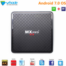 Vmade Android 7.0 OS Allwinner  H3 1g + 8g  V96S-H3 4K ott tv box 3*USB 2.0 H.265 smart tv box support Flixster facebook Netflix ipremium ulive pro tv box android 8gb 4k ultra h 265 tv receiver with mickyhop os and stalker middleware support 10 url adding