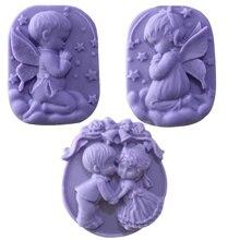 100% 手作り diy シリコーン石鹸金型石鹸作る 3D オーバル長方形石鹸金型クラフト花浴室台所石鹸金型