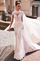 Robe de mariee lace wedding dress high end 2019 bride bridal gown real photo weddingdress vestido de noiva boho mermaid XY004