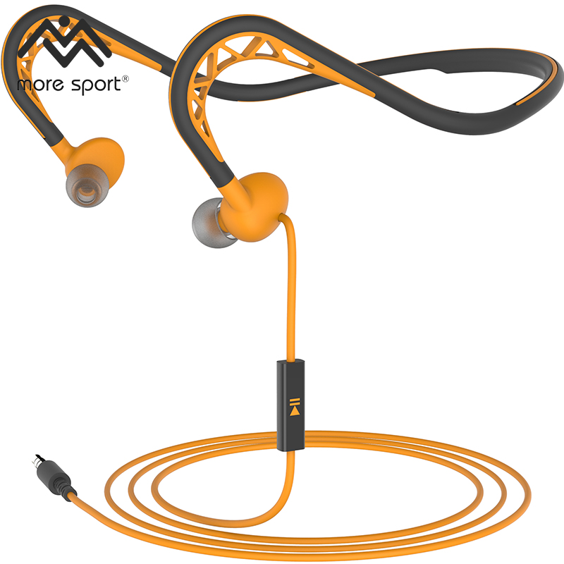 Profession In-Ear Sport Neckband Earphones Running Stereo Super Bass with MIC
