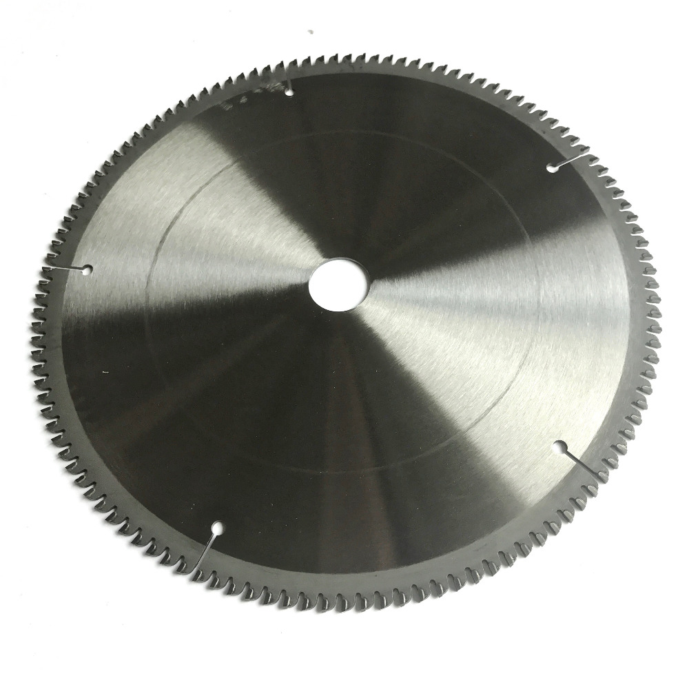 Free shipping Professional quality 254*25.4*2.8*100T TCG teeth TCT saw blade Non ferrous metal aluminum copper cutting blades