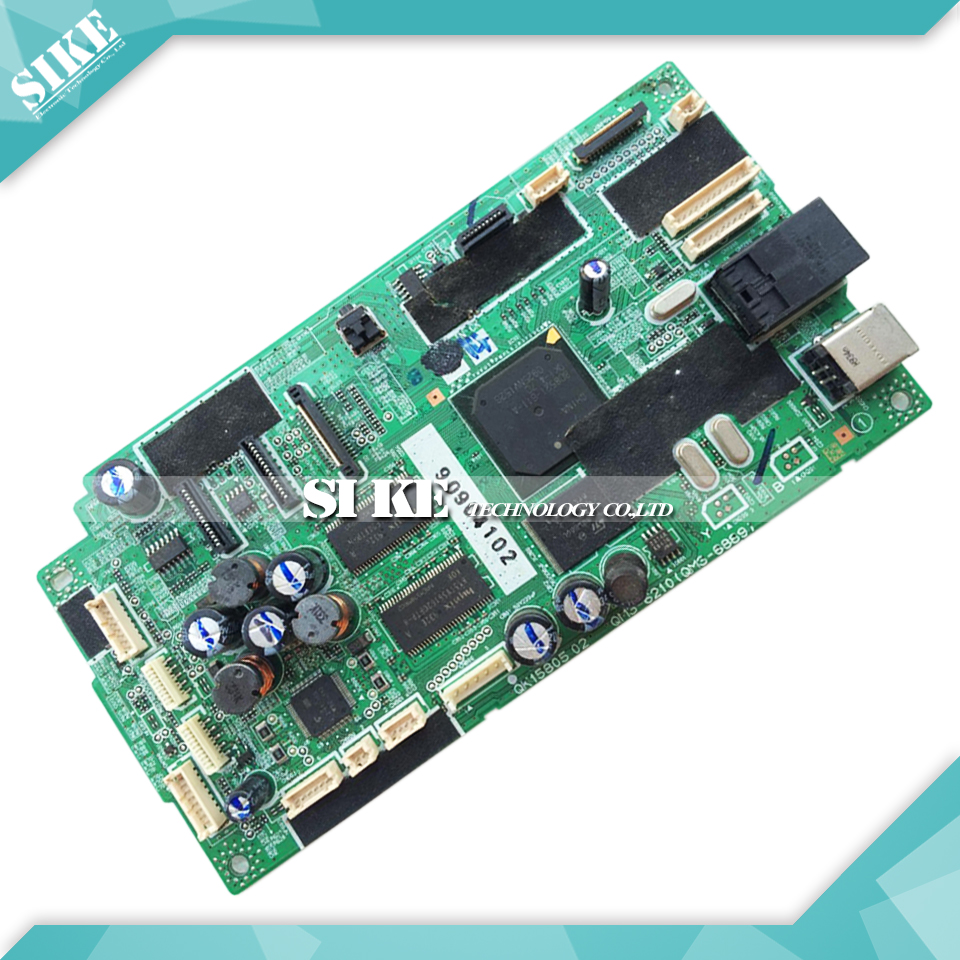 Logic Main Board For Canon MP648 MP 648 Formatter Board Mainboard QM3-6210 (QM3-6889) pixma printer logic mother board for canon mp600 mp 600 formatter board main board qk1 2577 03 qm3 0250