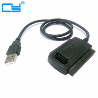 3 In 1 Usb To Sata Cable USB 2 0 To IDE 40p SATA 22p 2