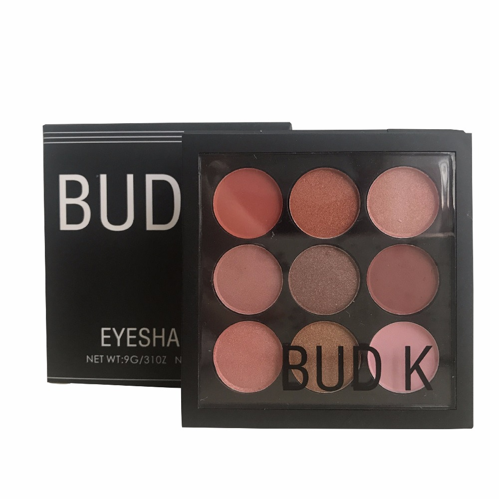 Makeup Eye Palette Shimmer Matte Cosmetics Pigment 15
