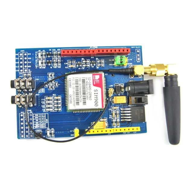 DIYmall Desenvolvimento SIM900 Módulo GSM GPRS Quad-Band BoardWireless Dados para Arduino Raspberry Pi