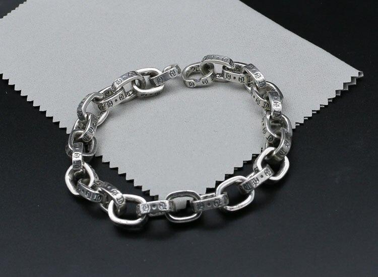 S925 серебряный правый EXO с выгравированным браслет аксессуары и украшения простой Trendsetter клуб