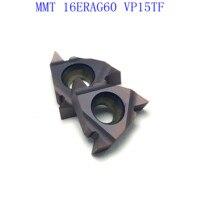 ag60 vp15tf ue6020 MMT16ER AG60 VP15TF / UE6020 / US735 קרביד משורשר Blade עבור חוט פנימי הפיכת חוט חיצוני מפנה CNC כלי מחרטה כלי (1)