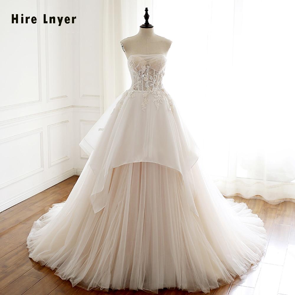 HIRE LNYER 2019 New Arrive Bridal Dresses Gelinlik