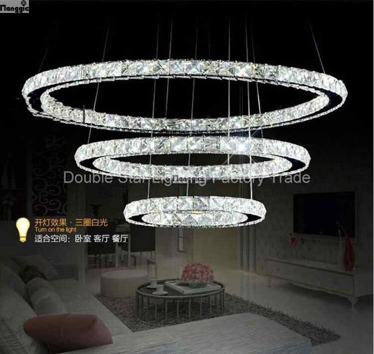 2015 Fashion Creative Modern Lustre Crystal Chandelier Dinning Room Lights For High Class Decorative Restaurant