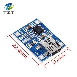 Image 5 - 10 adet mikro USB 5V 1A 18650 TP4056 lityum pil şarj cihazı modülü şarj kurulu koruma ile çift fonksiyonları 1A Li ion