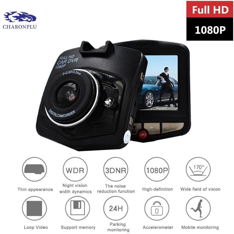CHARONPLU DVR Car-Camera Dual Full-Hd 4k/con-Vision Avtoregistrator No Nocturna