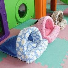 Сгущает собака матрац для кровати Одеяло спать в питомнике коврик из фланелевой ткани для наполнения высокая эластичность PP Хлопок Коврик для собак домик для кошек