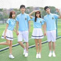The new style Japanese/Korean Sailor Suit England Style Cosplay Costumes Cute boy Girls Student School Uniforms JK Sets