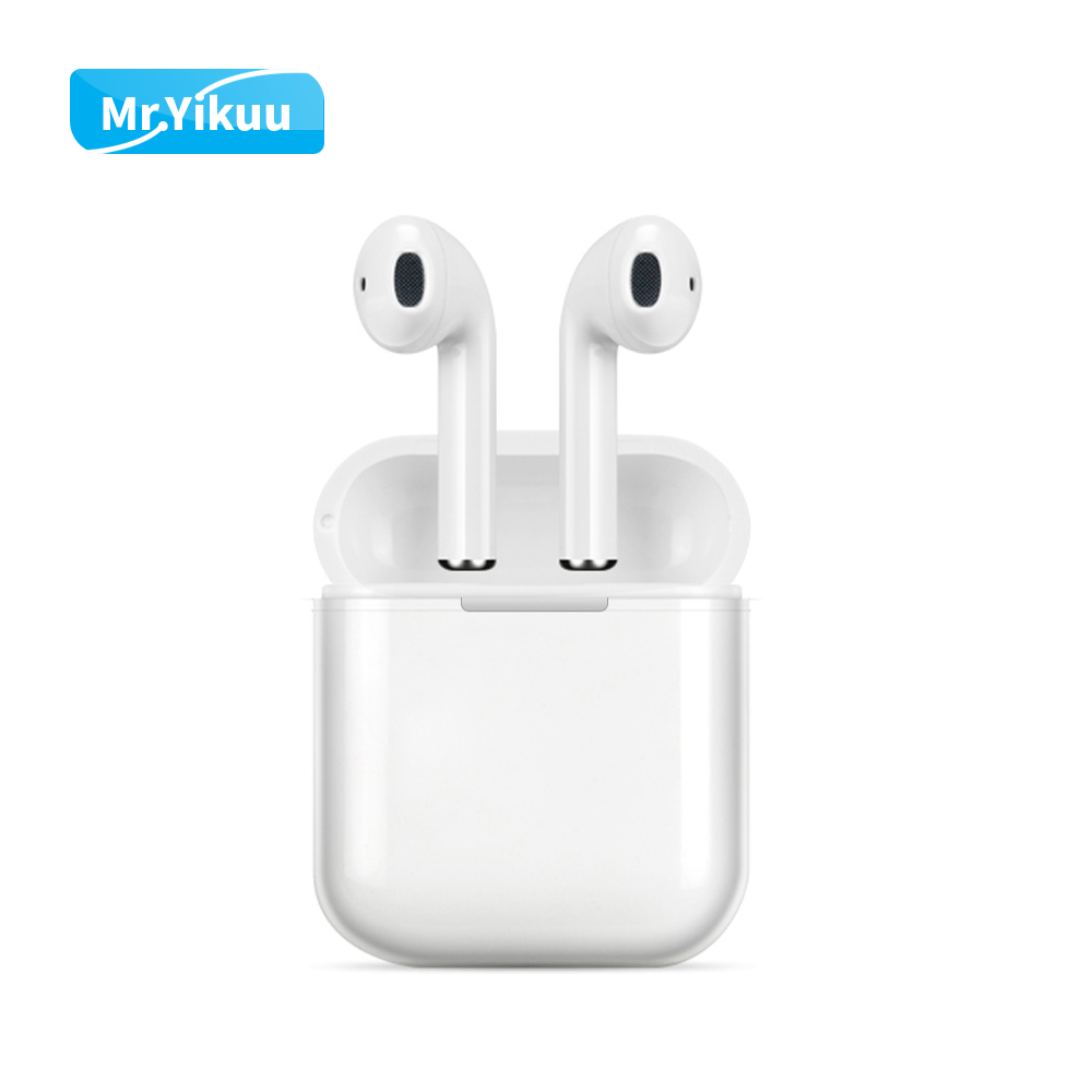 i9s Bluetooth Headset Wireless Headphones Auto pair Stereo TWS Earphones with Charging box For iPhone 7 8 X Xs Xr Xiaomi Huawei