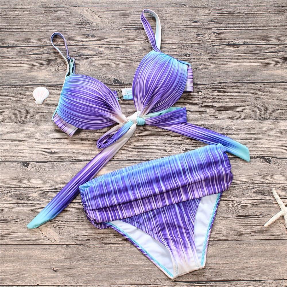New Plus Size Swimwear Push Up Bikini Women Bathing Suits Hot Sexy Biquini Female Bandage Brazilian Bikinis XL 2XL 3XL cheap sexy bathing suits plavky girls bikinis women woman plus size swimwear 2017 17 new korean strapless triangle badpakken