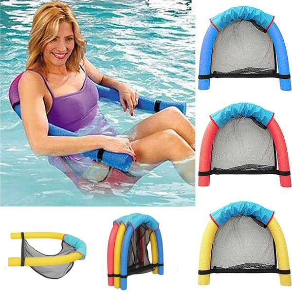 Creative Noodle Swimming Seat Pool Recreation New Chair Water Floating Tube Recreation