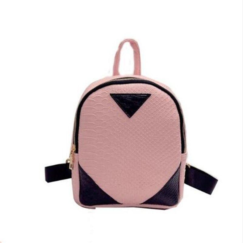 3576 P Nuove Donne di Disegno Zaini Drawstring Bag Sacchetti di Scuola Borsa Da Viaggio Piccolo Zaino