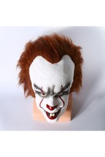 2017 Movie Stephen King's It Pennywise Mask The Clown Latex Mask Cosplay Props High Quality