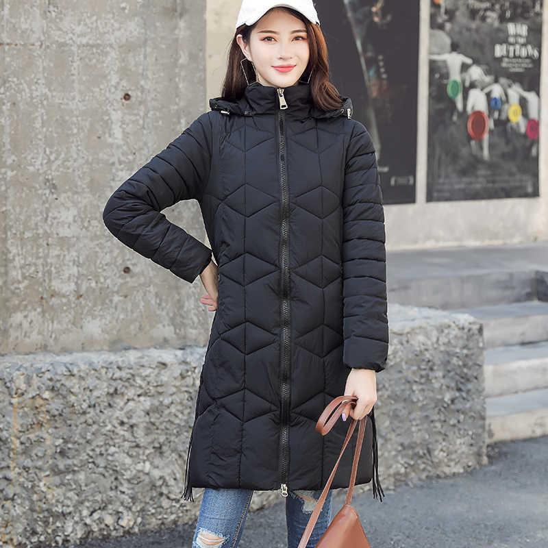Парка Для женщин 2019 зимняя куртка Для женщин пальто с капюшоном Женская куртка  теплая хлопковая стеганая 192ce3b3c66fc