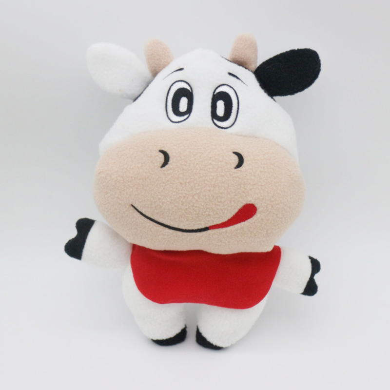 New Cow Baby Feeding Bottle Bag Toys Thermal Bag Case for Baby Bottle Cover Termica Thermos Milk Bottle Holder Stuffed Plush Toy