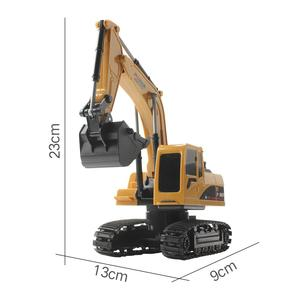 Image 5 - 1/24 Afstandsbediening Simulatie Model Graafmachine 5 Kanaals 2.4Ghz Graafmachines Crawler Auto Speelgoed Voor Kids Kinderen