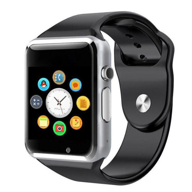 Image 5 - A1 наручные часы Bluetooth Смарт часы спортивные Шагомер с сим камерой Smartwatch для Android HUAWEI Apple samsung Watch-in Смарт-часы from Бытовая электроника