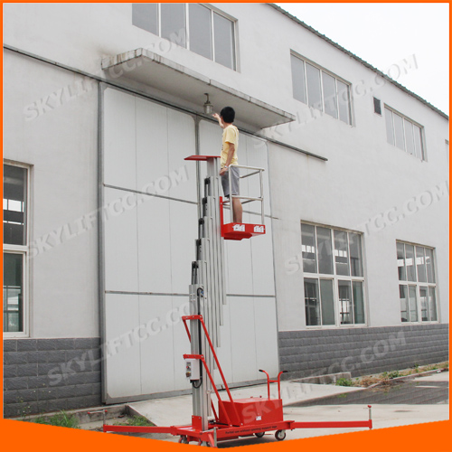 8m Hydraulic Portable Electric One Man Lift For Sale In