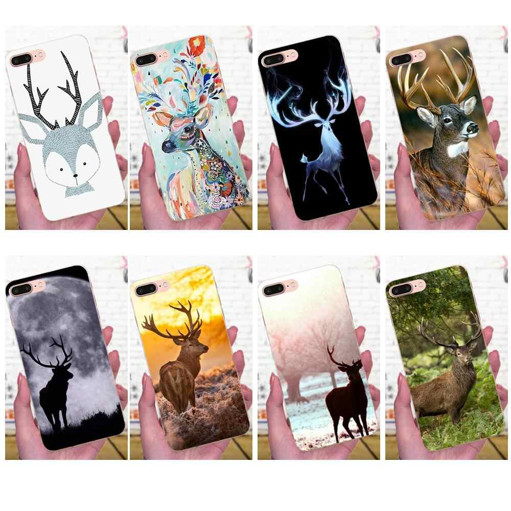 Sika Deer Bambi For Huawei Mate 7 8 9 10 20 P8 P9 P10 P20 P30 Lite Plus Pro 2017 Soft Silicone TPU Transparent Case