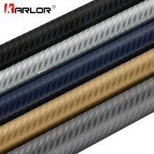 Lámina de fibra de carbono 3D 3M para coche pegatinas de vinilo para coche y calcomanías, accesorios para automóviles y motocicletas, 35cm x 200cm