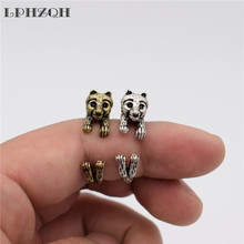 LPHZQH  fashion Vintage Adjustable animal dog ring cute Chihuahua Ring For Women Men gift Jewellery  birthday gift