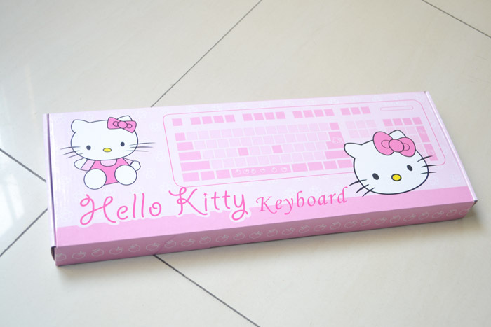 3e1a3cbe326 Hello Kitty pink cartoon usb computer gaming keyboard for girl free shipping-in  Keyboards from Computer & Office on Aliexpress.com | Alibaba Group