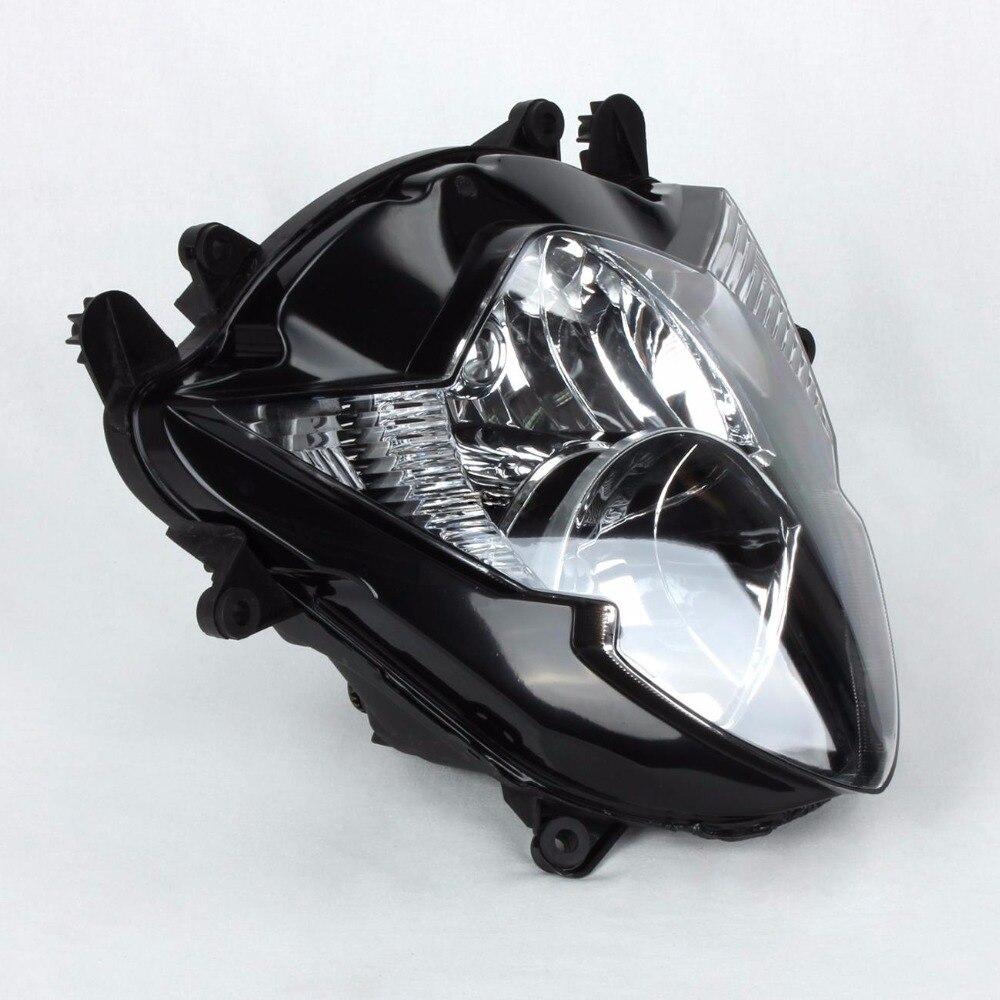 Для Suzuki GSXR1000 GSXR 1000 GSX R1000 R 1000 GSX-R1000 2005 2006 05 06 мотоцикла прозрачные линзы свет фар лампа сборки