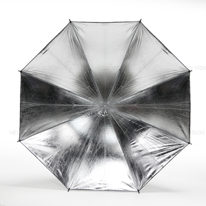 "Image 4 - Godox 40"" 102cm Reflector Umbrella Photo Studio Flash Light Grained Black Silver Umbrella"