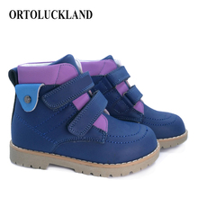 CCTWINS KIDS 2018 Winter Baby Snow Boot Genuine Leather