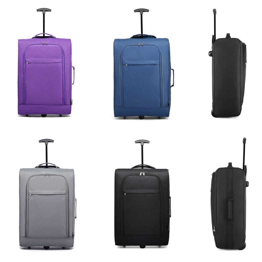KONO Bag Boarding Trolley Case Suitcase-Carry Hand-Luggage Travel 20inch Oxford School-Work