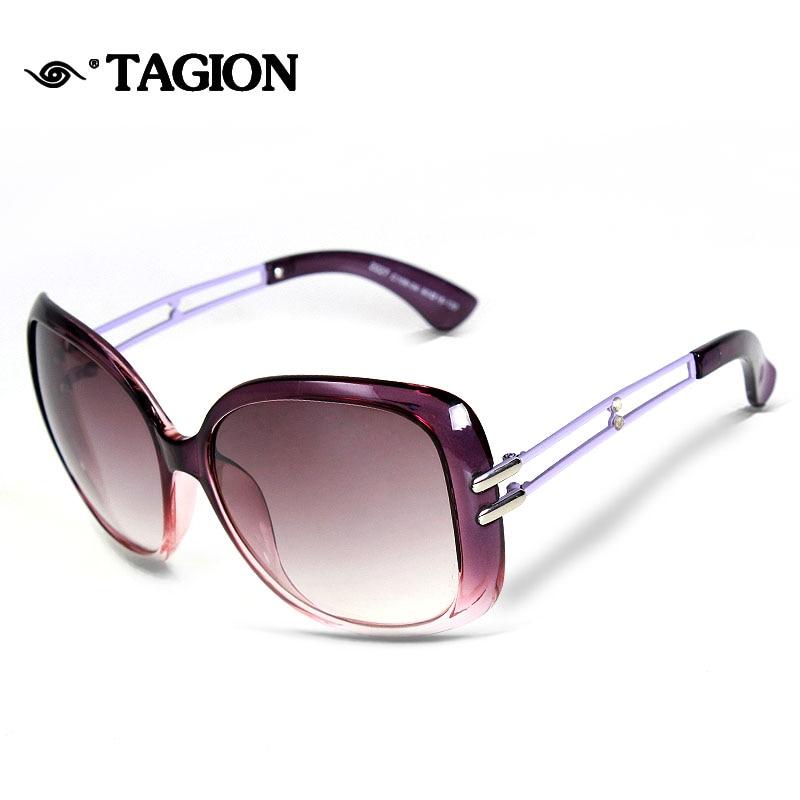 Klassische Tagion Frauen Sonnenbrille Für Brillen beige3817 Großhandel brown3118 Purple10804 gray3002 Vintage 2227 multicolor2918 black0403 USIIrcT6