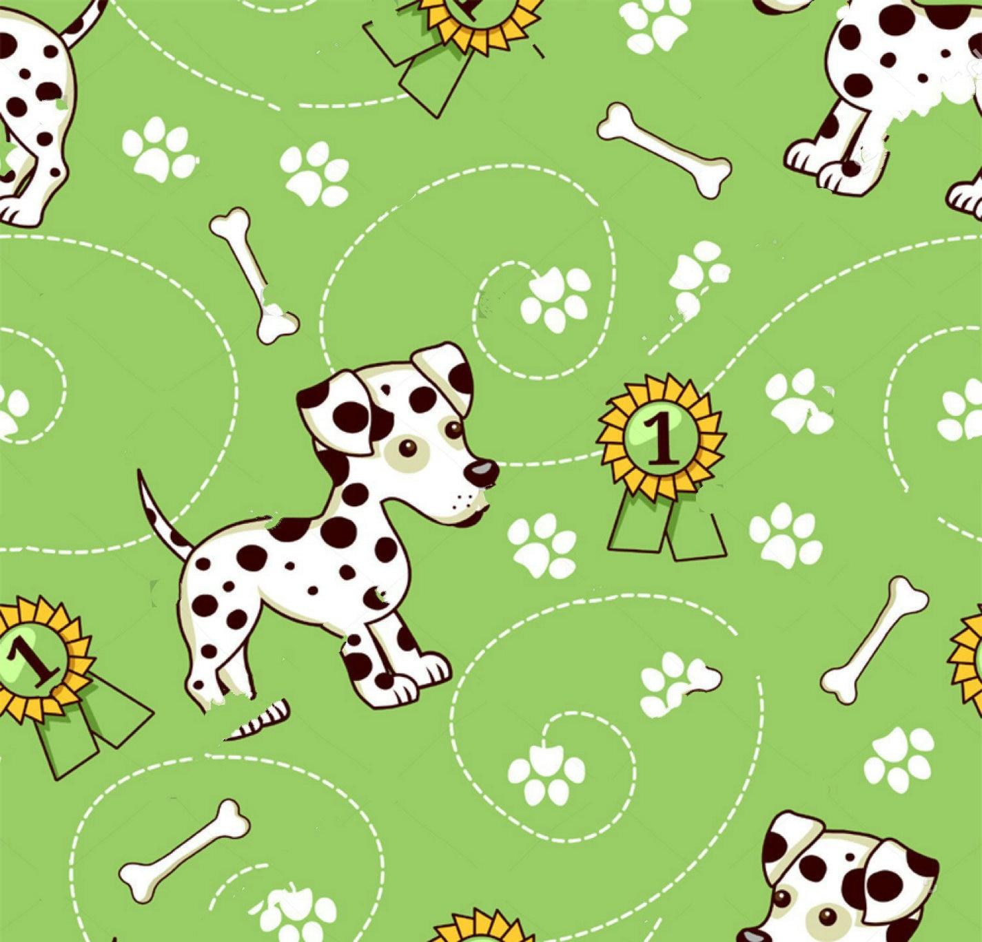 Dalmatian Puppies Bone Award backdrops  High quality Computer print children kids photo studio background