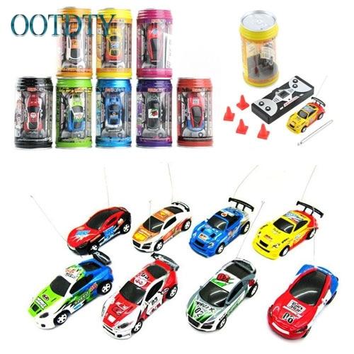 New Multicolor Coke Can Mini Speed RC Radio Remote Control Micro Racing Car Toy Gift #330