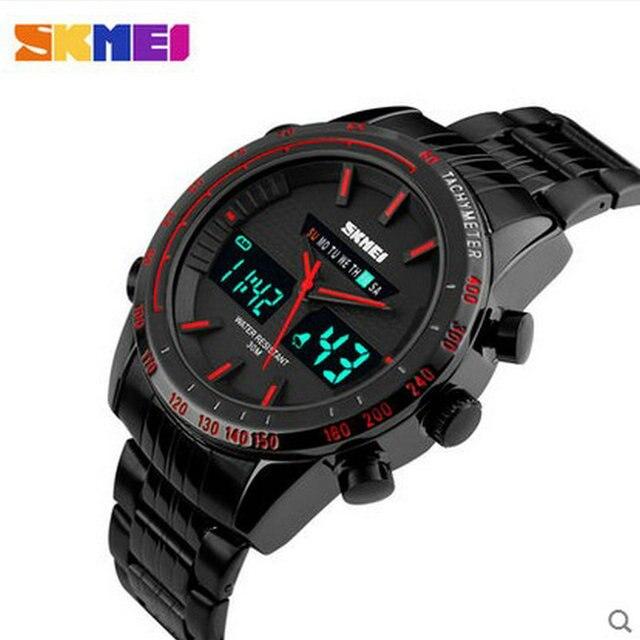 Chino tendencia del multifuntion reloj o reloj con cadena de acero inoxidable reloj de pulsera