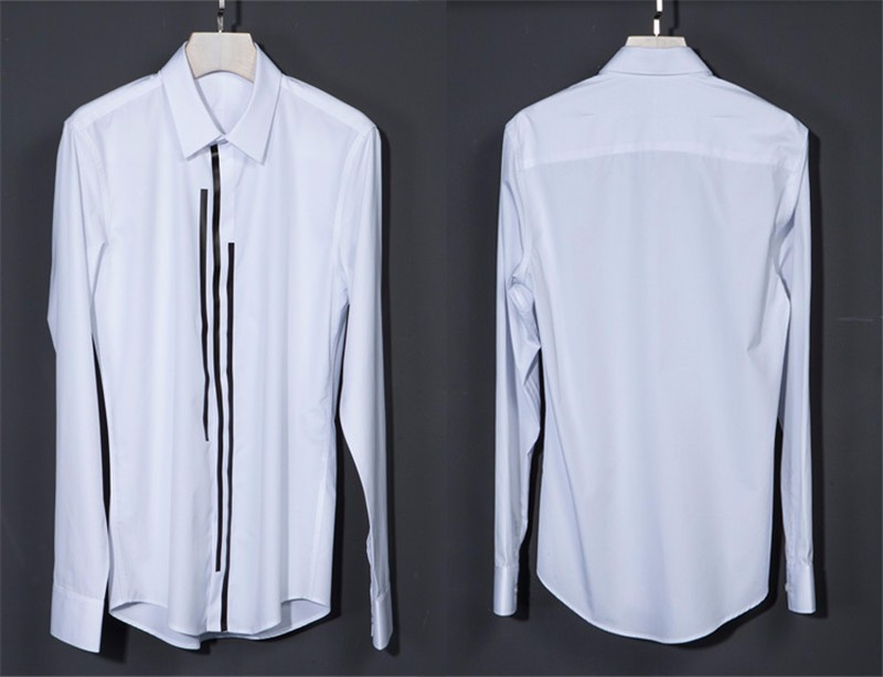 luxury Men dress shirt -18