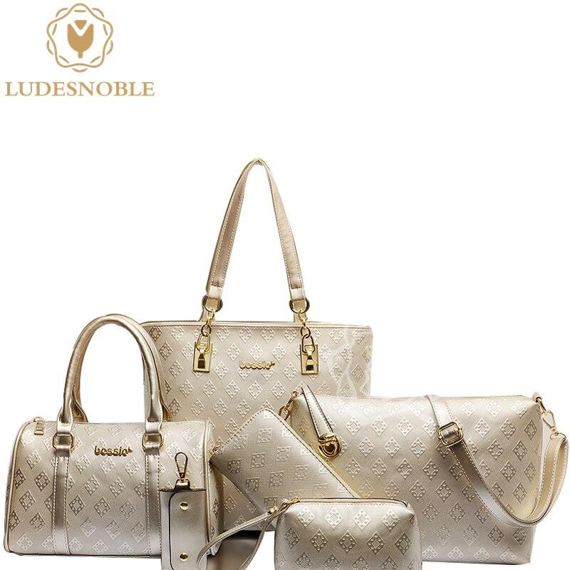 LUDESNOBLE font b Luxury b font font b Handbags b font font b Women b font