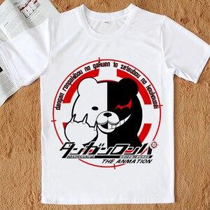 Футболка Danganronpa V3, футболка для косплея Монокума