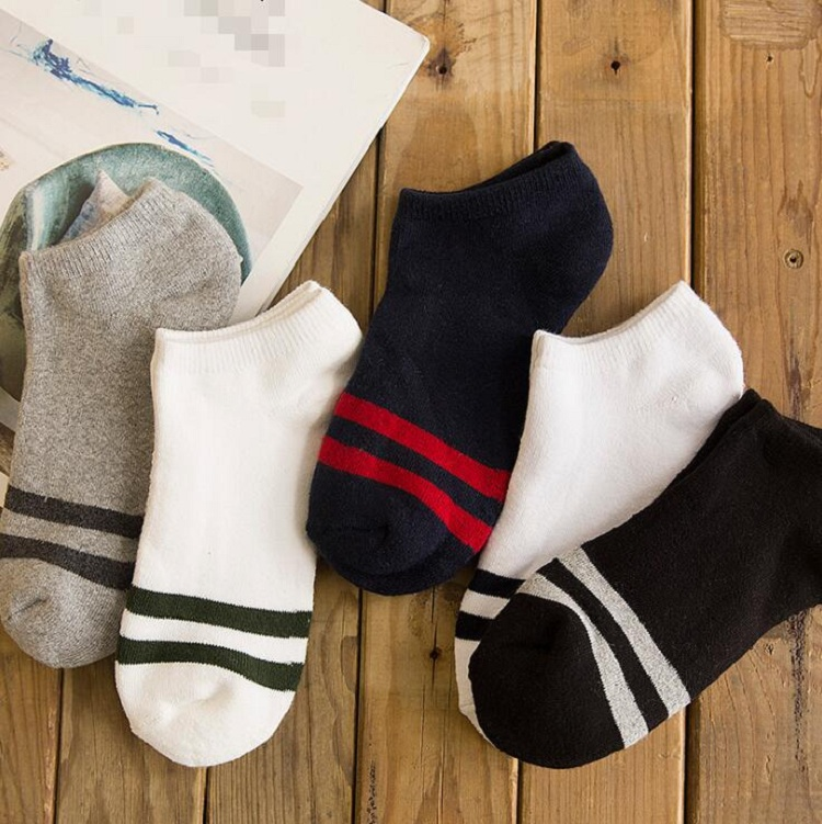 ankle socks thicken warm Fuzzy terry elastic short for spring autumn winter Men Man Male Boy soft strip